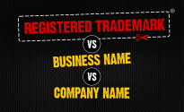 Trademarks vs Company Names vs Business Names